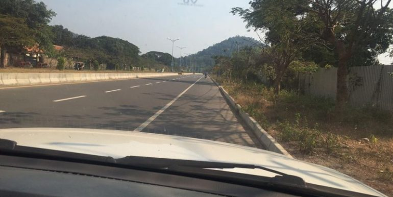 Land for sale on main road and sea view in Kep (3)
