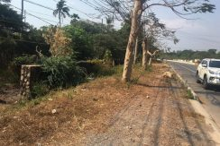 Land for sale on main road and sea view in Kep (4)
