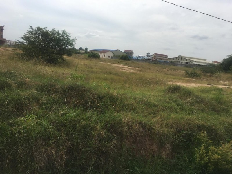 Land for sell 1km from airport